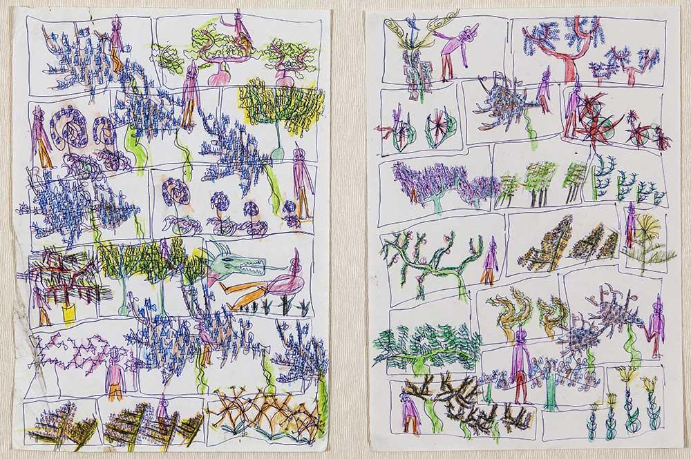 Grégoire Koutsandréou, BD P Folio A 2004 ©J-Y GUCIA_EgArt