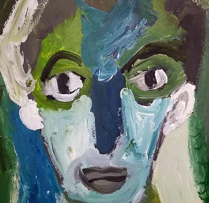 Sébastien Proust. STATIQUE 15-12-17. ACRYLIQUE, 29.8cm x 41.8cm