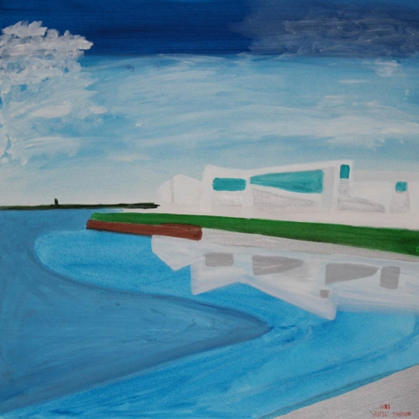 Yaniv Janson. Minds Eye Collection 7 Ashburton, Acrylic on canvas, 76x76 cm
