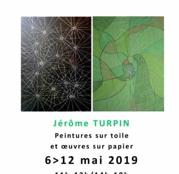 Exposition Jérôme Turpin - Mai 2019