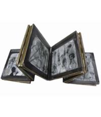 Natacha Guiller. Brouillon sur les dires de Lady Bruton, 2014. Dimension totale (déplié) : 77 x 25 x 0,6 cm. 1200 euros