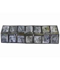 Brouillon sur les dires de Lady Bruton, 2014. Dimension totale (déplié) : 77 x 25 x 0,6 cm. 1200 euros