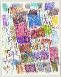 Wytze Hingst. Crayon sur papier, 2018_001, Crayon/papier, 50x40, © EgArt/BZVW/JYGucia. 220€
