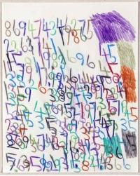 Wytze Hingst. Crayon sur papier, 2018_002, 50x40, © EgArt/BZVW/JYGucia. 220€