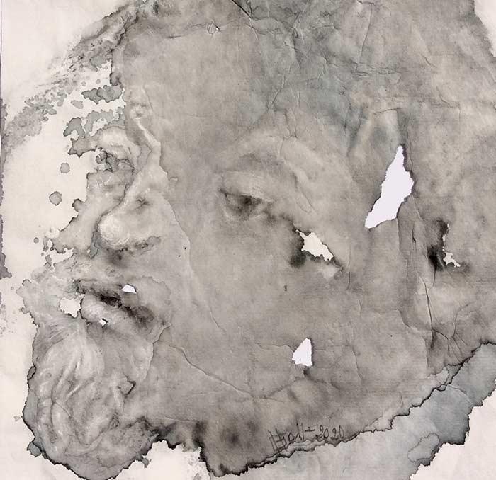 Hélène Galleron. Déflagration. Portfolio EGART