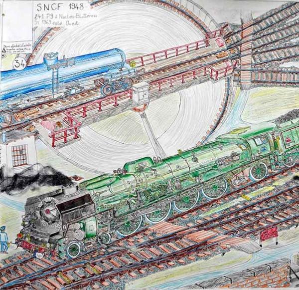 241 P SNCF 1948 -2010 - Gaël Dufrene
