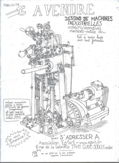 """Gaël Dufrene - Publicite """"A vendre"""" - 2005"""